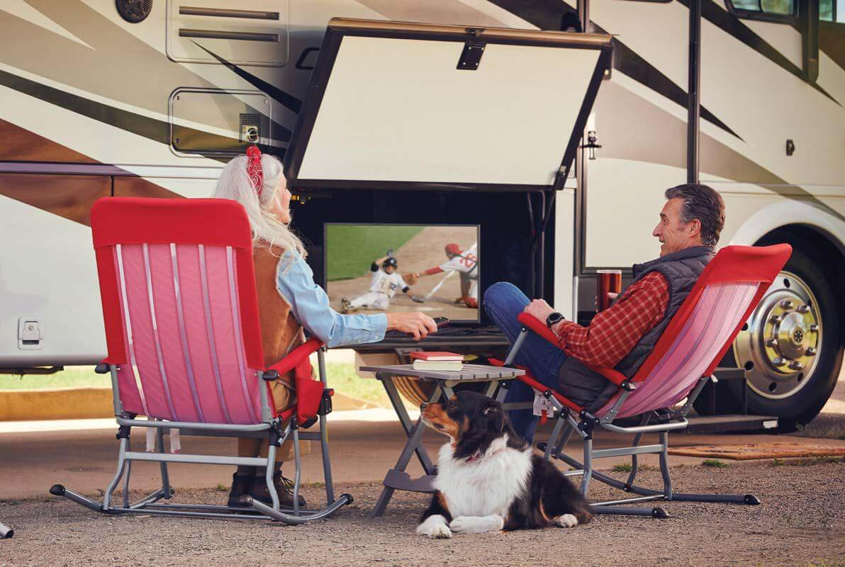 RVing - Dish Outdoors